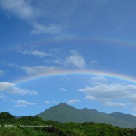 屋久島は「虹の島」。